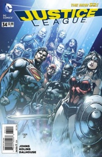 Justice League v2 #34