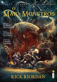 O Mar de Monstros: Graphic Novel