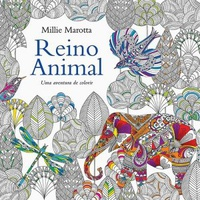 Reino Animal: Uma Aventura De Colorir