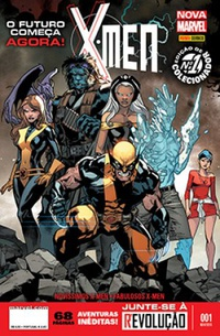 X-Men (Nova Marvel) #001