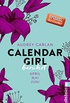 Calendar Girl - Berührt: April/Mai/Juni (Calendar Girl Quartal 2) (German Edition)