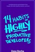 14 Habits of Highly Productive Developers