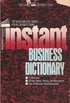 Instant Business Dictionary