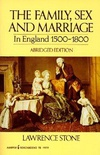 Family, sex and marriage in England 1500-1800