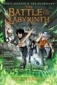 The Battle of the Labyrinth - Graphic Novel