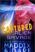 Captured by the Alien Savage