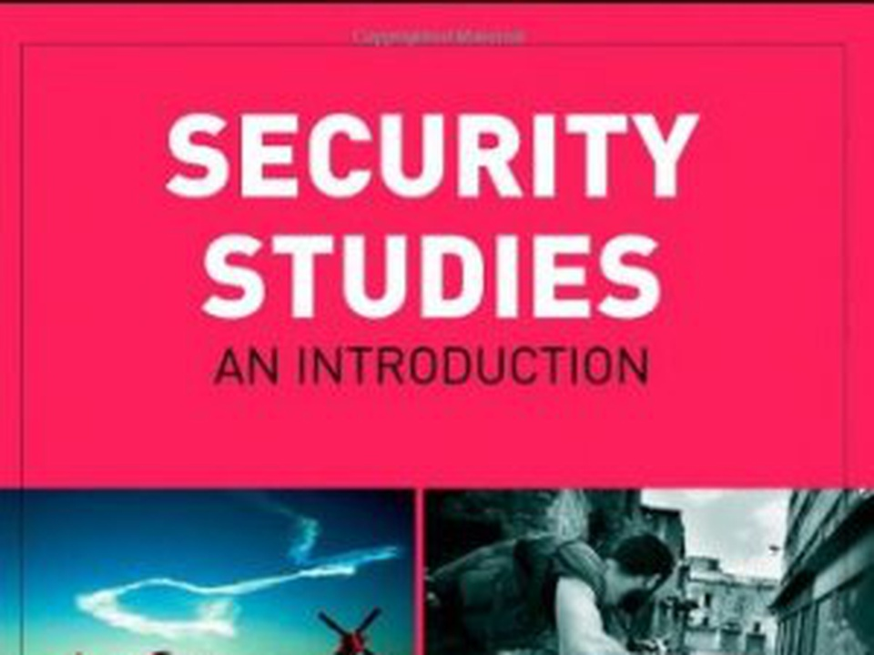 security studies This reader brings together key contributions from many of the leading scholars in the field, offering students an informed overview of the most significant work in security studies.