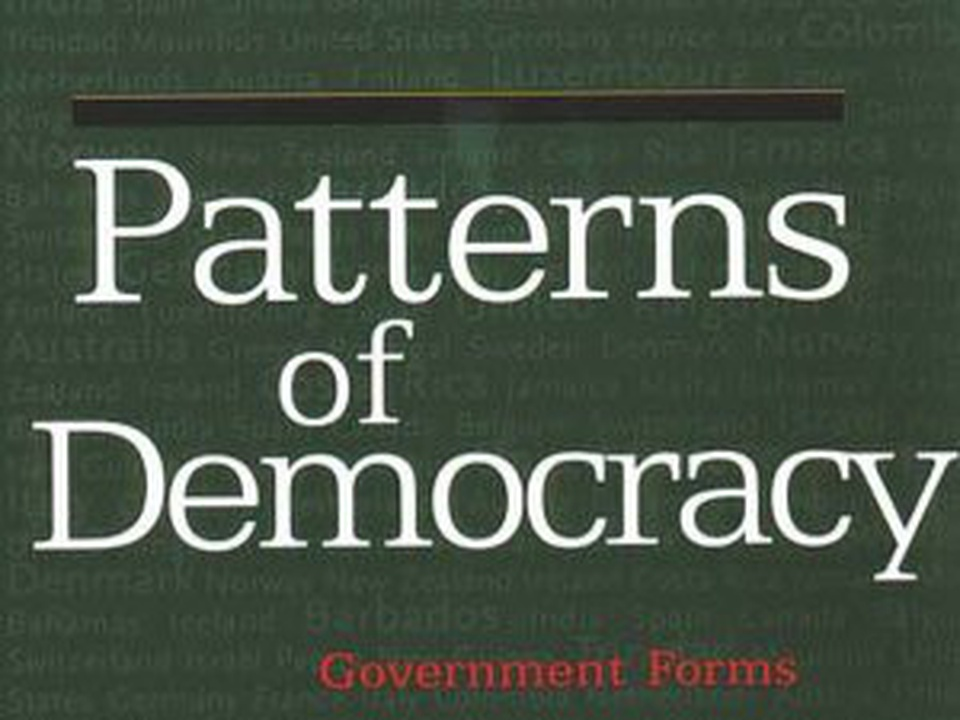 an analysis of lijpharts democracies Resilient patterns of democracy a comparative analysis wird durch eine partielle reanalyse von lijpharts patterns of in parliamentary democracies.